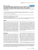 """Báo cáo y học: """"The proinflammatory cytokines IL-2, IL-15 and IL-21 modulate the repertoire of mature human natural killer cell receptors"""""""