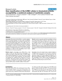 """Báo cáo y học: """"New classification of HLA-DRB1 alleles in rheumatoid arthritis susceptibility: a combined analysis of worldwide samples"""""""