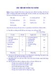 Bài tập tài chính doanh nghiệp 2