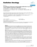 """Báo cáo khoa học: """"  Consistency in electronic portal imaging registration in prostate cancer radiation treatment verification"""""""