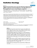 """Báo cáo khoa học: """" PET/CT Staging Followed by Intensity-Modulated Radiotherapy (IMRT) Improves Treatment Outcome of Locally Advanced Pharyngeal Carcinoma: a matched-pair comparison"""""""