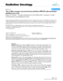"Báo cáo khoa học: ""  The c-Met receptor tyrosine kinase inhibitor MP470 radiosensitizes glioblastoma cells"""