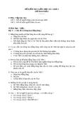 ĐỀ KIỂM TRA GIỮA HỌC KÌ 1 môn Tập làm văn - khối 3