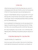 Danh nhân lịch sử: Lê Phụ Trần