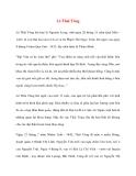Danh nhân lịch sử: Lê Thái Tông