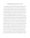 Danh nhân lịch sử: Lý Nhân Tông