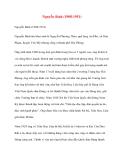 Danh nhân lịch sử: Nguyễn Bình