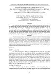 NGUYÊN NHÂN CỦA CÁC VẤN ĐỀ TOÀN CẦU VÀ TÁC ĐỘNG CỦA CHÚNG ĐẾN QUAN HỆ ĐỐI NGOẠI CỦA VIỆT NAM