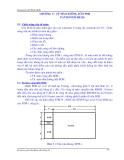 Giáo trình ghép kênh số PDH & SDH - Chương 5