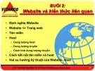 Bài giảng Thương mại điện tử dành cho doanh nghiệp - Bài 2: Website và kiến thức liên quan