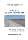 Giáo trình cơ sở kỹ thuật bờ biển - Chương 1