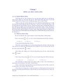 Giáo trình kỹ thuật thủy khí - Chương 3