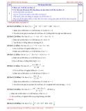 Khảo sát hàm số & Bài toán liên quan