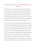 Danh nhân Việt Nam: Phan Chu Trinh
