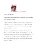 Danh nhân Việt Nam: Tô Ngọc Vân