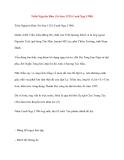 Danh nhân Việt Nam: Trần Nguyên Đán