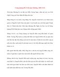 Danh nhân Việt Nam: Trùng Quang Đế