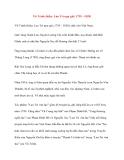 Danh nhân Việt Nam: Vũ Trinh