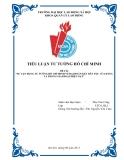 Tiểu luận Tư tưởng Hồ Chí Minh: Sự vận dụng tư tưởng Hồ Chí Minh về đại đoàn kết dân tộc của Đảng ta trong giai đoạn hiện nay