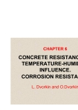 BASICS OF CONCRETE SCIENCE - CHAPTER 6