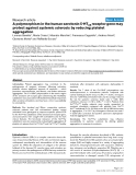 """Báo cáo y học: """"A polymorphism in the human serotonin 5-HT2A receptor gene may protect against systemic sclerosis by reducing platelet aggregation"""""""