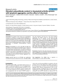 """Báo cáo y học: """"Elevated autoantibody content in rheumatoid arthritis synovia with lymphoid aggregates and the effect of rituximab"""""""