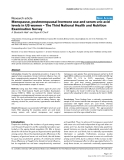 """Báo cáo y học: """"Menopause, postmenopausal hormone use and serum uric acid levels in US women – The Third National Health and Nutrition Examination Survey"""""""