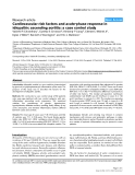 "Báo cáo y học: ""Cardiovascular risk factors and acute-phase response in idiopathic ascending aortitis: a case control study"""