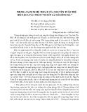 """Phong cách nghệ thuật của Nguyễn Tuân thể hiện qua tác phẩm """"Người lái đò sông Đà"""""""