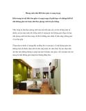 Phong cách nhà 2010 đơn giản và sang trọng