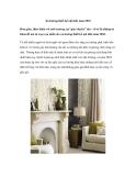 Xu hướng thiết kế nội thất năm 2010