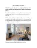 Thiết kế nội thất cho căn hộ 58m2