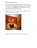 Nồng nàn sắc đỏ trong phòng ngủ
