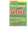 Tự học thiết kế trang Web bằng HTML part 1