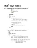 Thực hành ngôn ngữ PHP