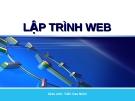 Lập trình web: Ngôn ngữ lập trình PHP - Trần Cao Nhân