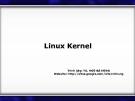 Linux Kernel ( TS. NGÔ BÁ HÙNG )