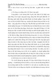Luận văn các giải pháp kinh doanh cho công ty dệt may công nghiệp - Nguyễn Thị Huyền Dương - 2