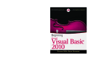 Beginning microsoft Visual Basic 2010 phần 1