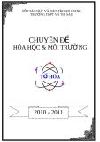 Chuyên đề: Hóa học và môi trường