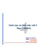 Cách tạo và làm việc với Chỉ Mục (INDEX)