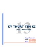 KỸ THUẬT TÌM KIẾM(Full – Tex Search)