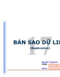 BẢN SAO DỮ LIỆU(Replication)