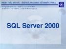 Tài liệu môn học SQL Server 2000