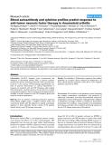 "Báo cáo y học: ""Blood autoantibody and cytokine profiles predict response to anti-tumor necrosis factor therapy in rheumatoid arthriti"""
