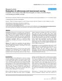"Báo cáo y học: ""Evaluation of arthroscopy and macroscopic scoring"""