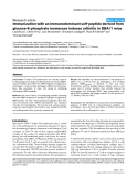 """Báo cáo y học: """"Immunization with an immunodominant self-peptide derived from glucose-6-phosphate isomerase induces arthritis in DBA/1 mice"""""""