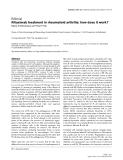 """Báo cáo y học: """"Rituximab treatment in rheumatoid arthritis: how does it work"""""""