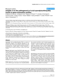 """Báo cáo y học: """"Insights in to the pathogenesis of axial spondyloarthropathy based on gene expression profiles"""""""