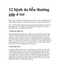 12 bệnh da liễu thường gặp ở trẻ